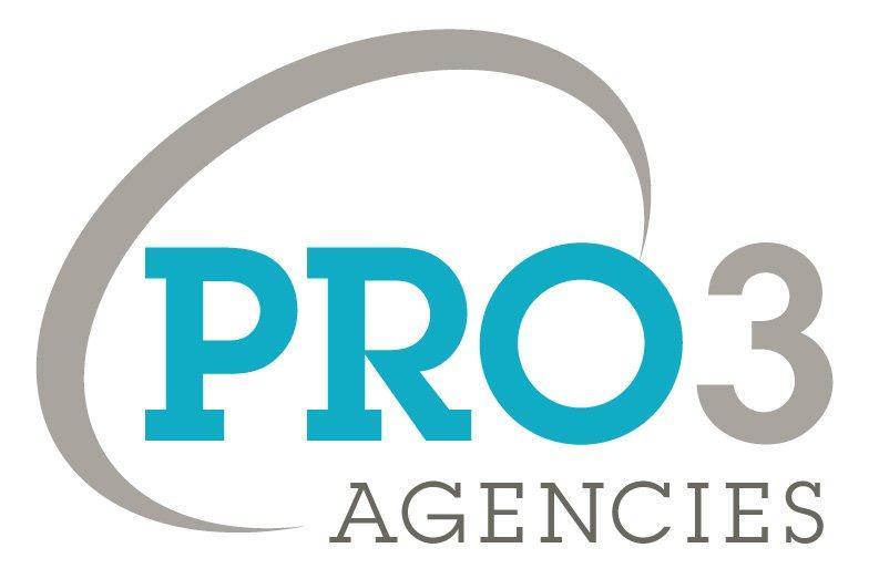 Pro 3 Agencies Logo
