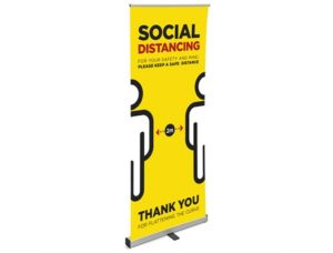 Covid-19 Social Distancing banner