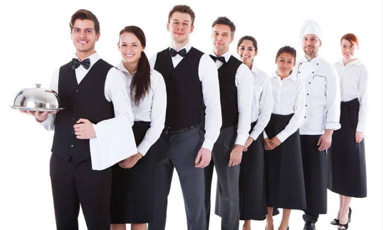 Hospitality Staff in uniform