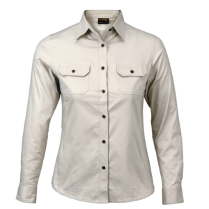 Long Sleeve Bush Shirt
