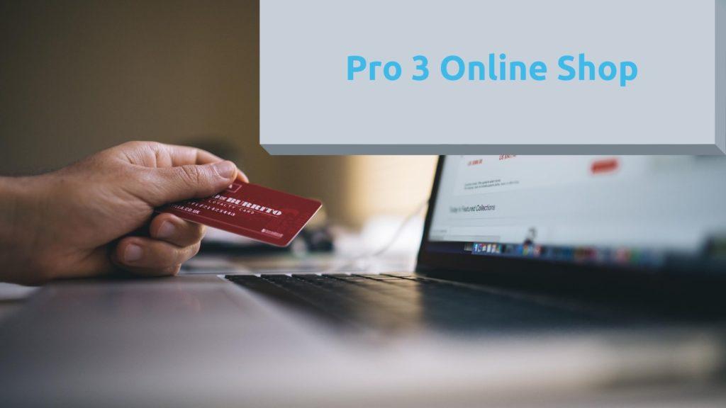 Pro 3 Online Shop